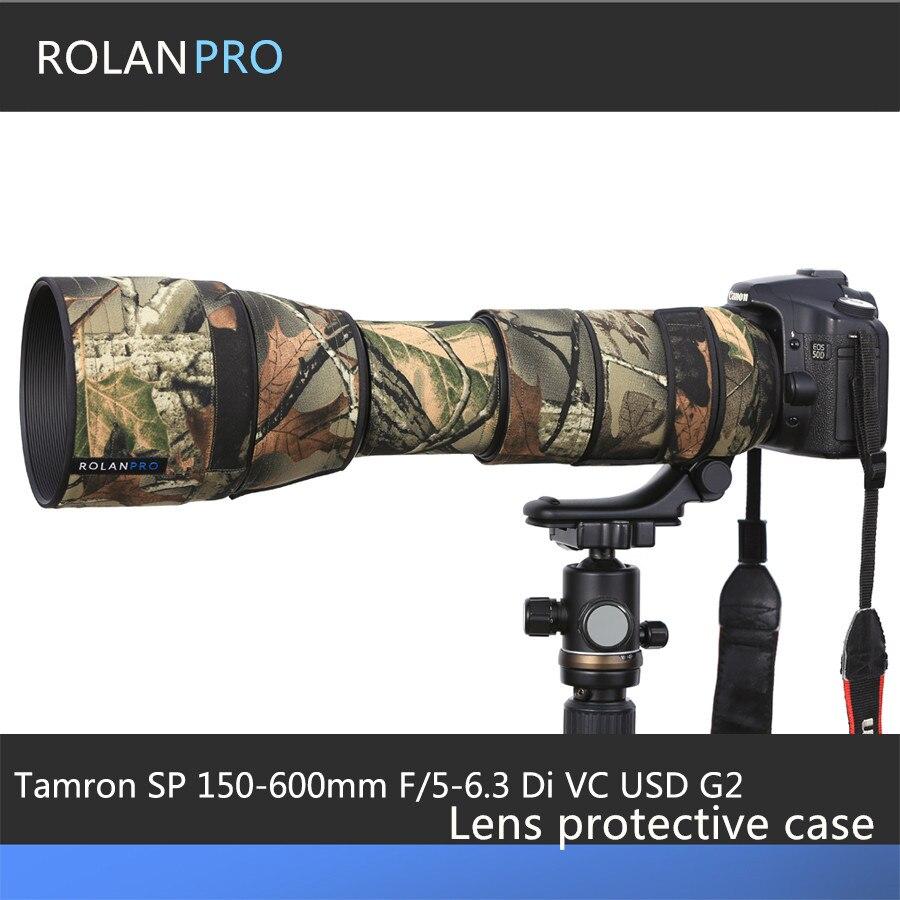 ROLANPRO Tamron SP 150 600mm F/5 6.3 Di VC USD G2 A022 étui de protection pistolets vêtements Camouflage caméra lentille couverture de pluie-in Sacs pour appareil photo from Electronique    1