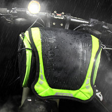 цены Waterproof Capacity Bicycle Bag Front Tube Frame Bag Bike Handlebar Basket MTB Pannier Cycling Camera Shoulder Bag