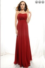 free shipping new fashion 2013 elegant dress plus size brides maid vestidos formales red long prom gown evening dresses