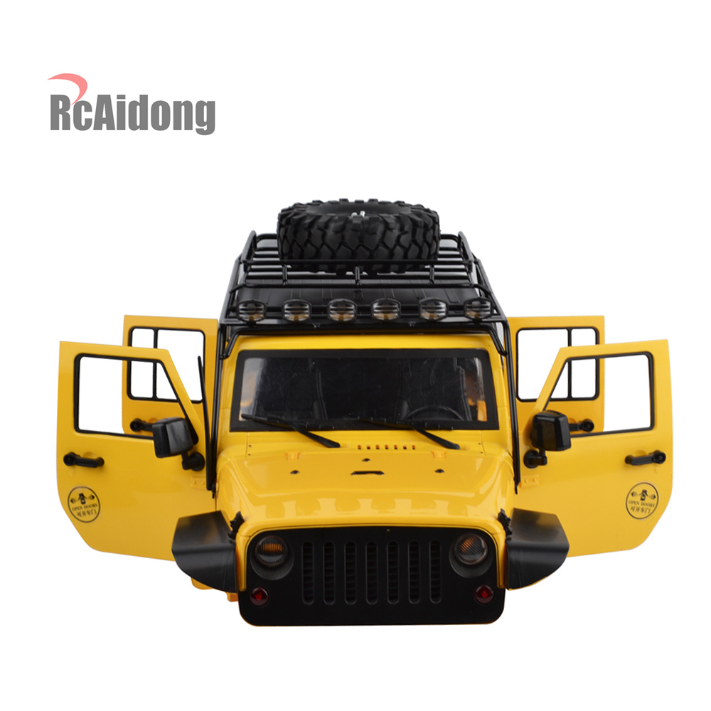 RCAidong RC Rock Crawler 1:10 Crawler Car Shell and Luggage Rack for Axial SCX10 RC4WD D90 D110 Hard Plastic Wheelbase 313 MMRCAidong RC Rock Crawler 1:10 Crawler Car Shell and Luggage Rack for Axial SCX10 RC4WD D90 D110 Hard Plastic Wheelbase 313 MM