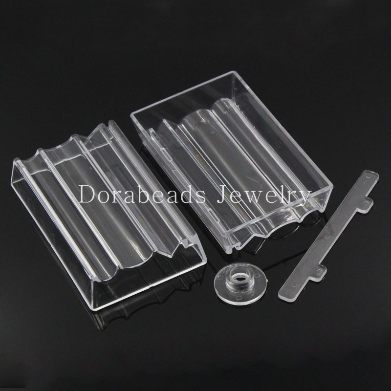 Bead Roller For Jewelry Making Perfect Polymer Clay Beads Rectangle Transparent 10.2x6.4x1.9cm,2 Sets (B23360) yiwu bead roller for jewelry making perfect polymer clay beads rectangle transparent 10 2x6 4x1 9cm 2 sets b23360 yiwu