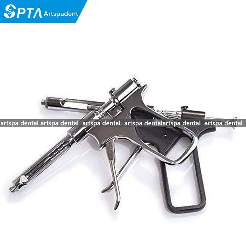 Dental Gun Syringe Dentist Surgical Instruments Stainless/ Black Alternative