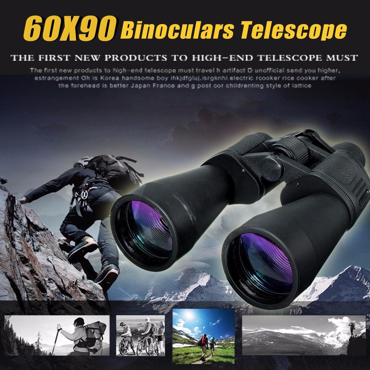 Zoom télescope 60x90 jour et nuit Vision jumelles jumelles professionnelles de haute qualité oculaire pour la chasse en plein air