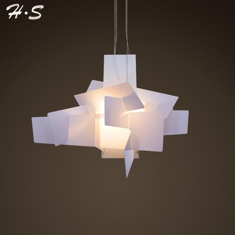 Moderno foscarini big bang sospensione lights bianco acrilico ...