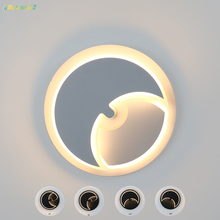 12w Magic Foldable Rotatable Led Moon Wall Light Pretty Unique Modern White Black Wall Sconces Lighting Fixtures For Kid Bedroom детский матрас konkord kid s magic moon 60x160 pink