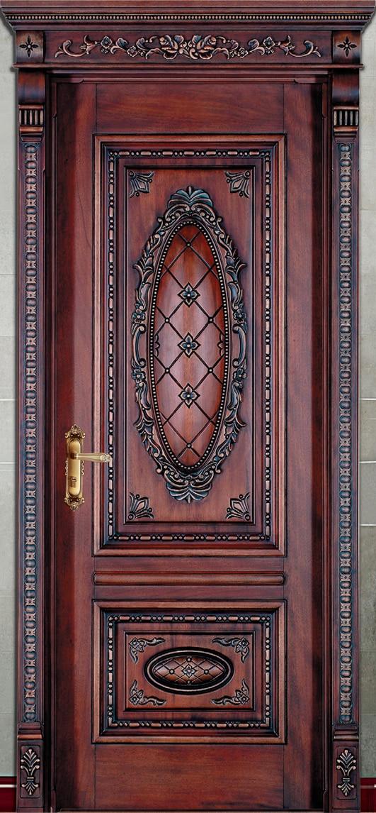 Hot vente top qualité et raisonnable prix extérieur et intérieur en bois massif composé de porte portes coulissantes