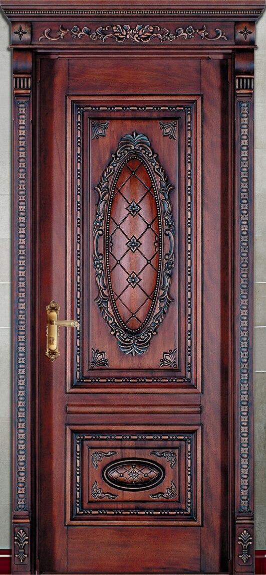 Offre spéciale top qualité et prix raisonnable extérieur et intérieur porte en bois massif composé portes coulissantes
