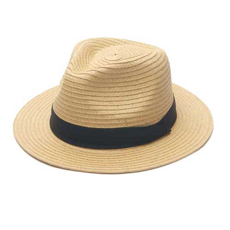 375b146a2e4 8pcs Lot Quality Solid Color Paper Straw Fedora Hats for Men Black Straw  Caps With Ribbon Ladies Summer Fedoras Caps Wholesale-in Sun Hats from  Apparel ...
