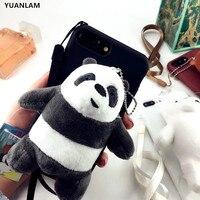 Hohe qualität Mode Winter warme plüschbären bälle pelz handy fall für iphone 6 s 6 7 8 plus schutzhülle für iphone X