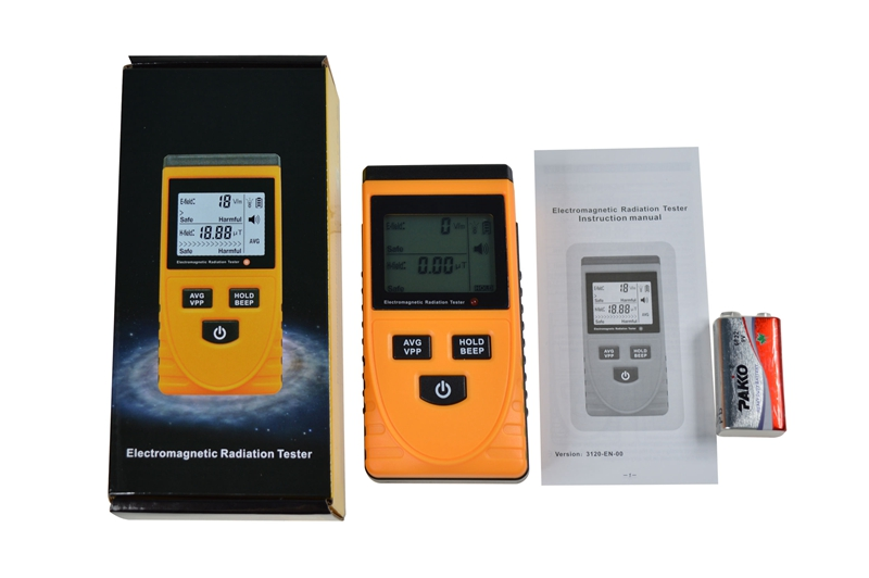 Digital LCD Electromagnetic Radiation Meter Anti Electromagnetic Radiation Measurement Detector Tester Dosimeter Sensor GM3120  цены
