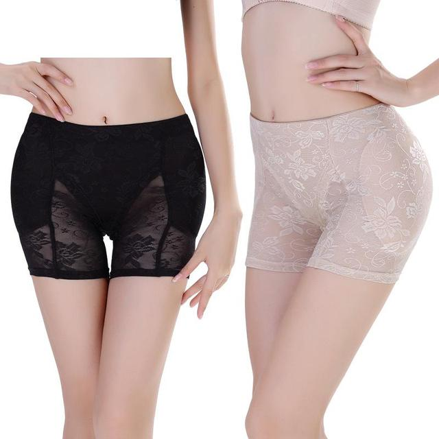 7830e60331f Mozhini big size Sexy Women padded hip panty buttock hip booster pad panty  False Butt LIft