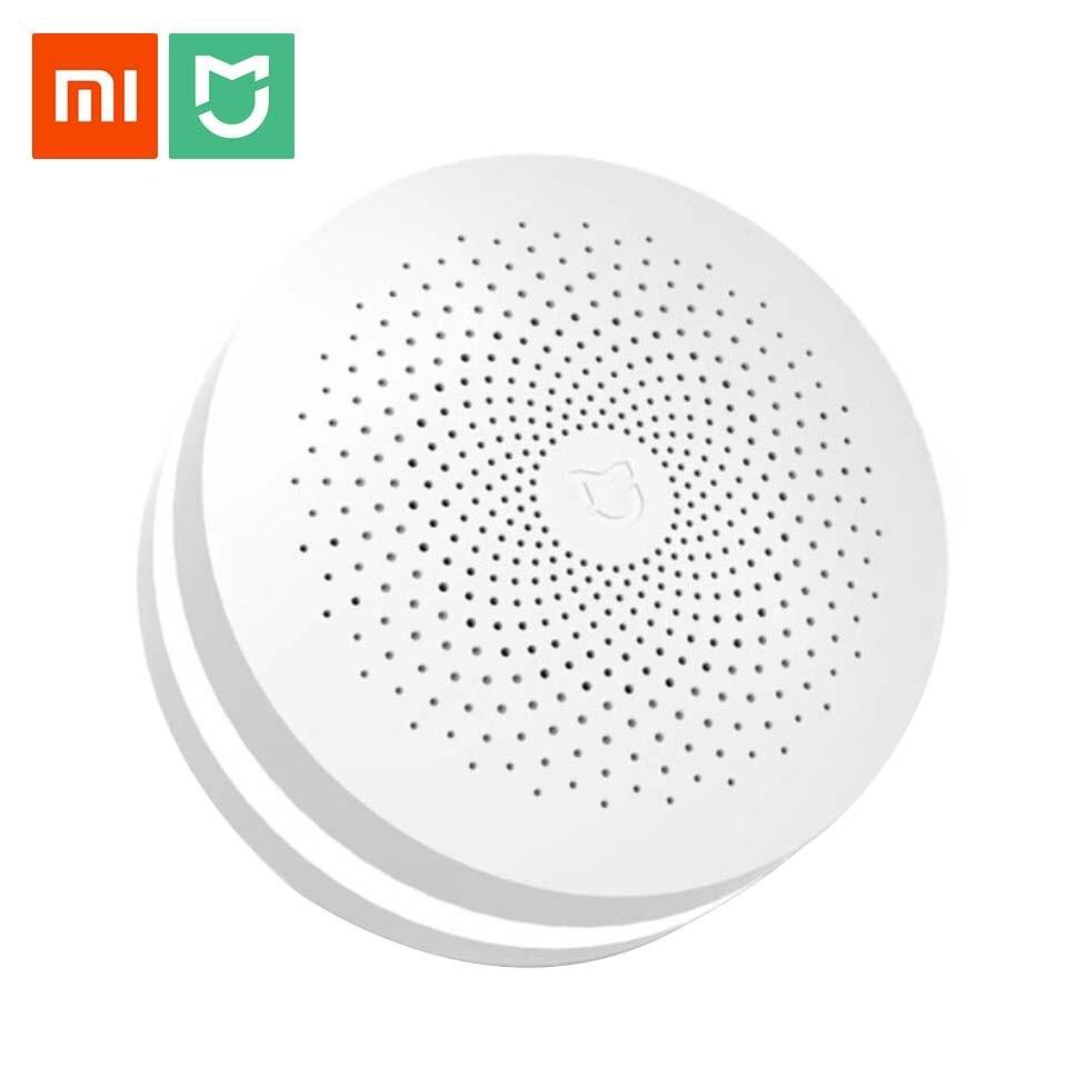 Original Xiaomi Mijia multifunción Gateway versión de actualización Smart Home Control Centro HUB con altavoz 16 millones de luces de Color