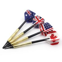 12Pcs Soft Tip Darts  Nice Flights Set Plastic Tips Points Needle Replacement for Electronic Dart недорого