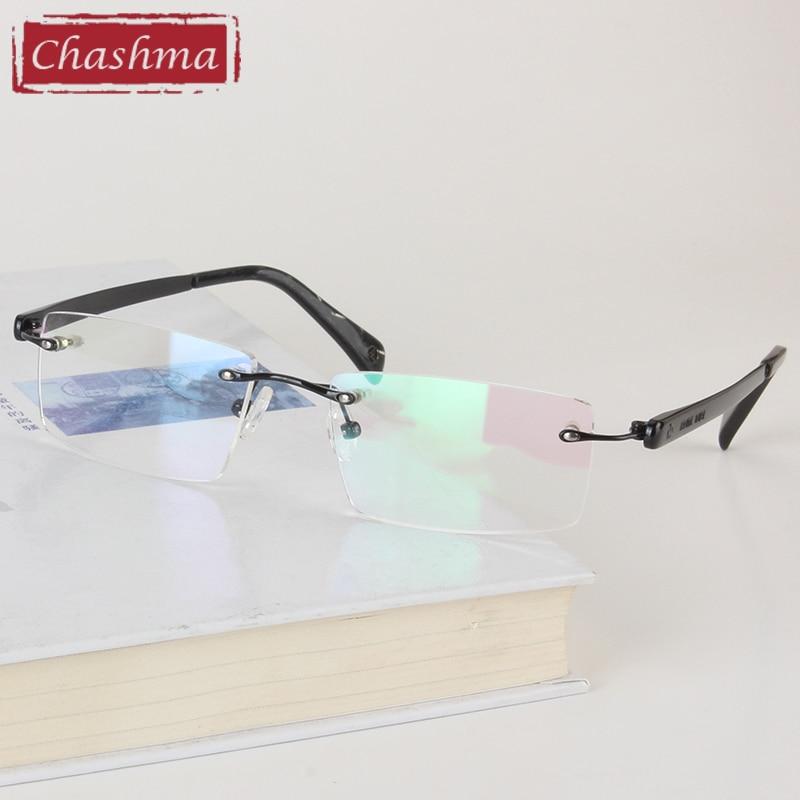 Chashma Brand Eyewear Kişi Eynəklər Optik Çərçivəsiz, Rəngsiz - Geyim aksesuarları - Fotoqrafiya 4