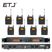 In Ear Monitor Wireless System  Professional for Stage Performance SR2050 IEM With 8 Receiver em2050 wireless in ear monitor system 10 ear monitoring systems wireless stage monitor system em2050 iem bodypack monitor