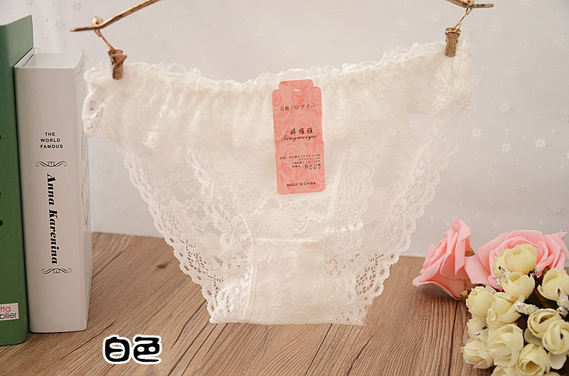 hot sale sexy underware women briefs transparent panties cute vs pink lace panty hollow out brief thongs and g strings