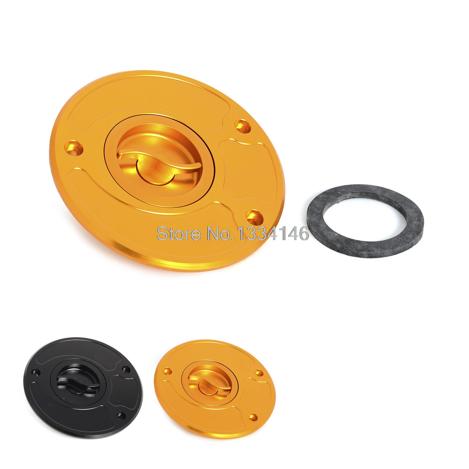 Aluminum Fuel Gas Cap Anodized Fit For KAWASAKI ZX6R ZX10R ZX14R ER6F/N VERSYS 650 Z750/R Z800 Z1000 nicecnc stunt clutch pull cable lever replacement easy system for kawasaki kx klx 125 250 z800 z900 z1000 z750 zx6r zx10r er6f n