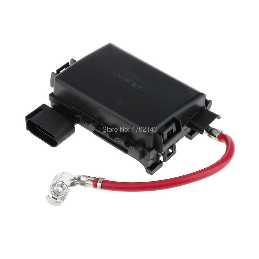 New Car Battery Fuse Box Holder Terminal For Vw Jetta Golf Mk4 99 04 4 1j0937550a In Fuses From Automobiles Motorcycles On Alibaba Group