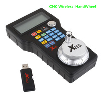 New Mach 3 Wireless Handwheel USB MPG Pendant 4 Axis Controller for CNC Machine