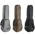 Profession portable waterproof 21 23 24 26 28 inch soprano concert tenor ukulele bag soft gig case backpack guitar padded cover