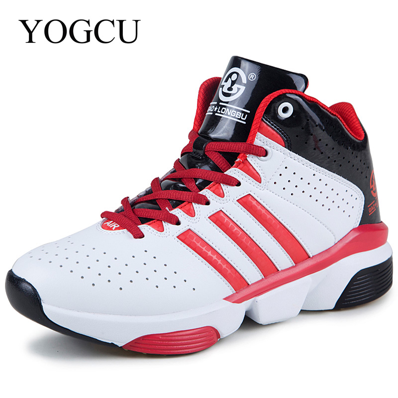 Unisex Sport Sneakers High Quality Lace Up Basketball Shoes Anti-slip Soft Cushioning Shoes For Men Breathable Chaussures Homme bolangdi 2017 new anti slip outdoor men hiking shoes high quality trekking camping shoes breathable lace up brand sport sneakers