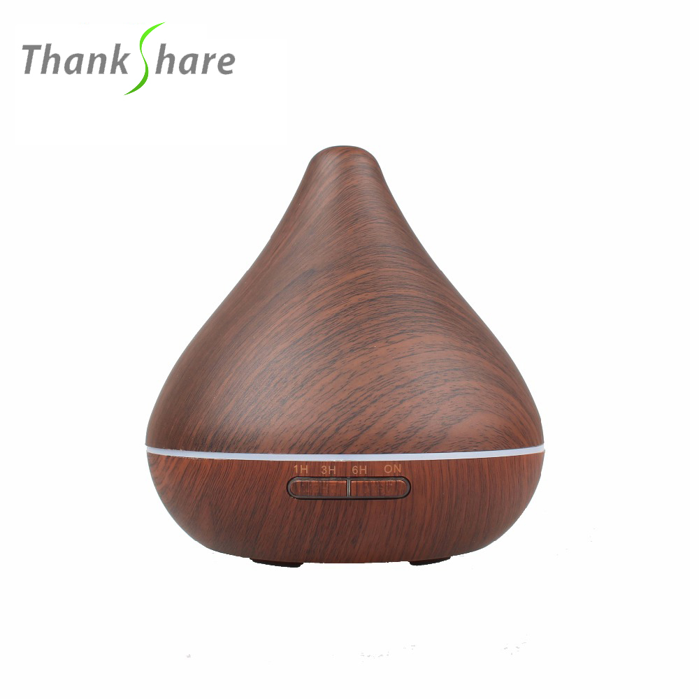 300ml Ultrasonic Air Humidifier Aroma Diffuser Aromatherapy Essential Oil Diffuser 7 Lights Timing Fogger Mist Maker for Home remote control air humidifier essential oil diffuser ultrasonic mist maker fogger ultrasonic aroma diffuser atomizer 7 color led