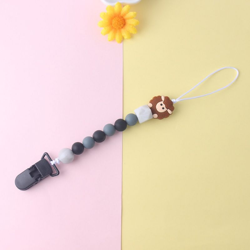 New Premium Child Baby Pacifier Chain Soothing Boys Girls Cute Sheep Colorful Design Kids Toys