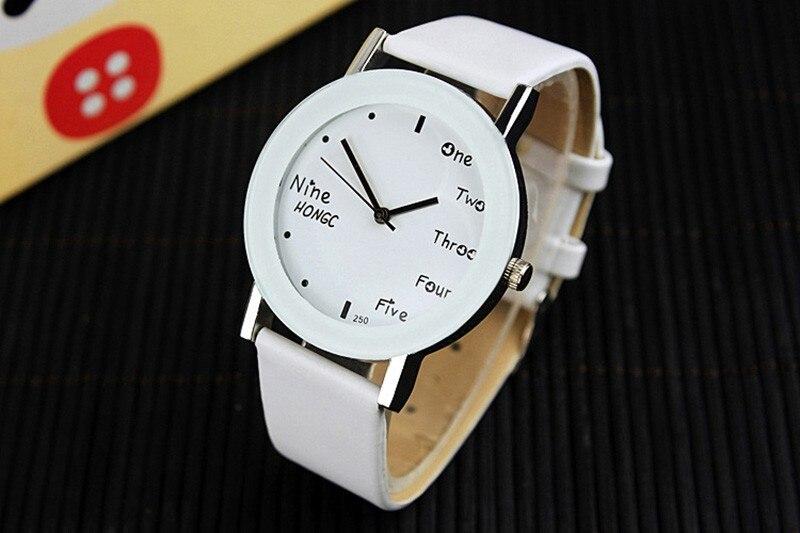 2016 YAZOLE Fashion Quartz Watch Women Leather Wrist Watches Ladies Wristwatch Girls Quartz-watch Female Clock Relogio Feminino