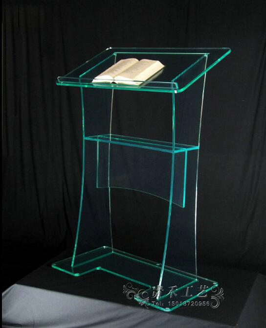 Free Shipping Modern Acrylic Pulpit Church Designs