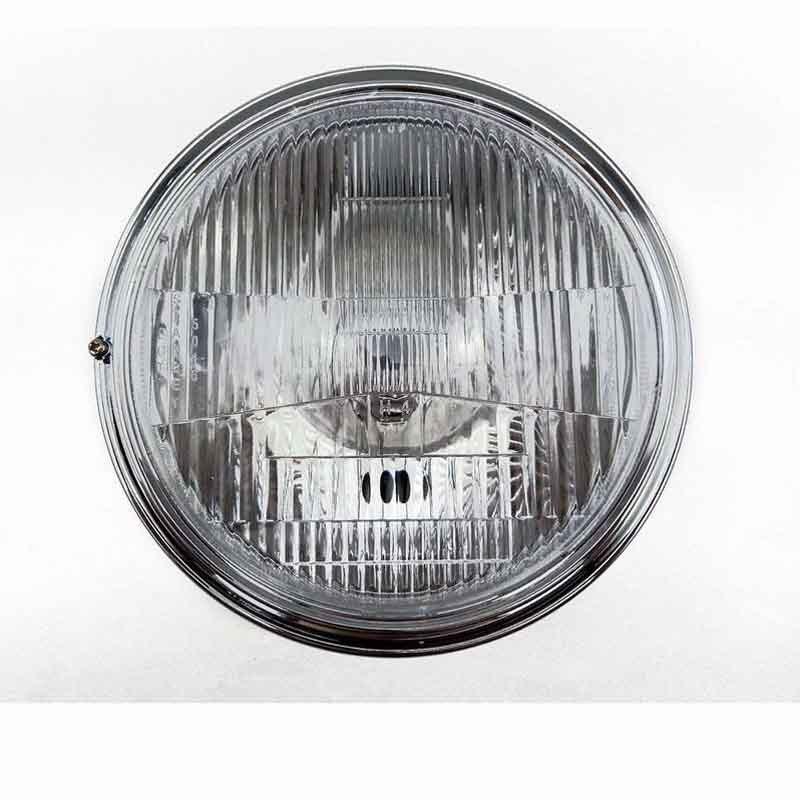 "7"" Chrome Motorcycle Headlights for Cruiser Chopper Bobber Custom SUZUKI Honda CB400 VTEC1 2 3 Head Lamp|  - title="