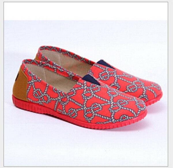 Fashion New Cotton Canvas Women Flat Shoes old Beijing cloth shoes old beijing shoes new women s cotton