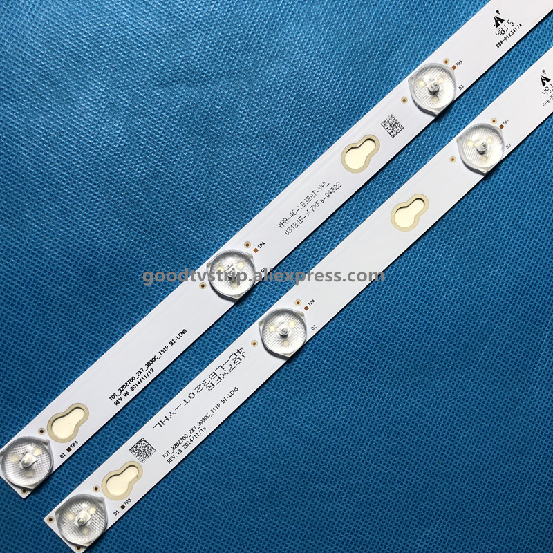 LED Backlight Lamp strip For TCL TV TCL L32F3303B YHA 4C LB320T YHL LVW320CSOT E227 32HR330M07A2-in LED Bar Lights from Lights & Lighting