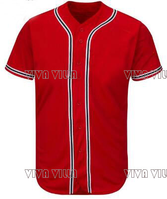 2017 New Baseball Jersey Personality customization Any Name Any Number All Stitched Logo Men Jerseys S-4XL Free Shipping цена