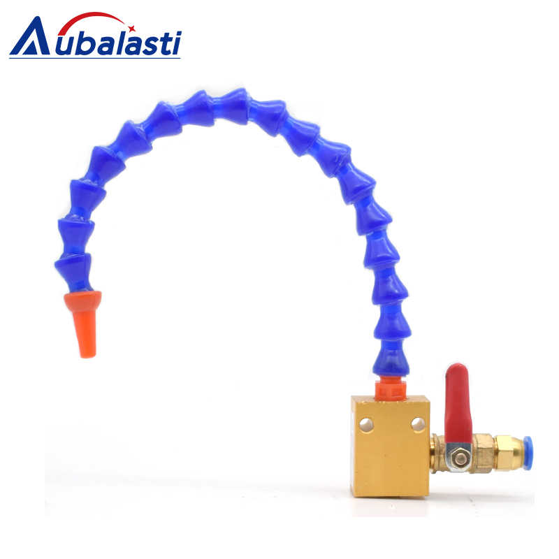 Mist Coolant Lubrication Spray System For 8mm Air Pipe CNC Lathe Mill Dril FZ
