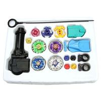 Retail 1Pcs New Fusion Top Metal Master Rapidity Fight Rare Beyblade 4D Launcher Grip Set