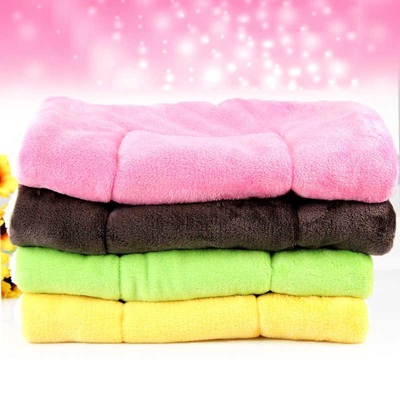 100*75 см зимняя Милая подушка для домашних животных, коврик для собак, теплый Звездный принт, Щенячий матрас из флиса, маленькое одеяло для собак, кровать для кошек, коврик для ZL289-1