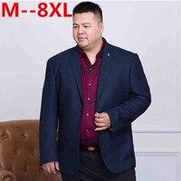 10XL 8XL 6XL 5XL 4XL brand clothing blazer men high quality fashion casual blazer masculino slim fit designer comfort suit men