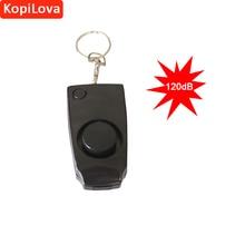 2018 New KopiLova Rape Whistle Personal Alarm 120dB Lound Self Defense Portable Alarm for Women Children Elderly Free Shipping