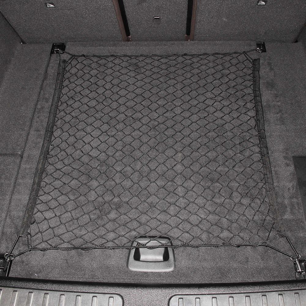 Универсальный автомобильный нейлоновая эластичная решетчатая сетка для Volkswagen VW Polo Golf 4 Golf 6 Golf 7 CC Tiguan Passat B5 B6 Jetta Mk5 MK6 любых автомобилей