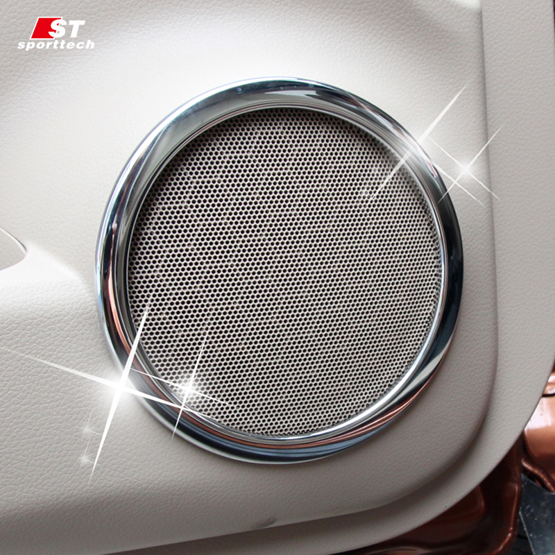 Car-styling Inner Sound Stickers For Nissan Rogue X-Trail 2013-2018 Speaker Music Cover Audio Trim For X-Trail Rogue Accessories left hnad drive car styling accessories interior car cover trim decoration 18pcs for nissan x trail rogue 2014 2015 2016 2017