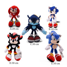 5 Styles Sonic World Adventure the Werehog Soft Doll Cartoon Animal Stuffed  Plush Toy Gift For Children