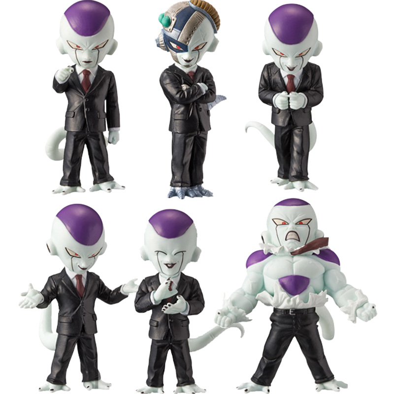Dragon Ball Z WCF World Collectable Figure BOSS FREEZA Full Set 100% Original original banpresto world collectable figure wcf the historical characters vol 3 full set of 6 pieces from dragon ball z