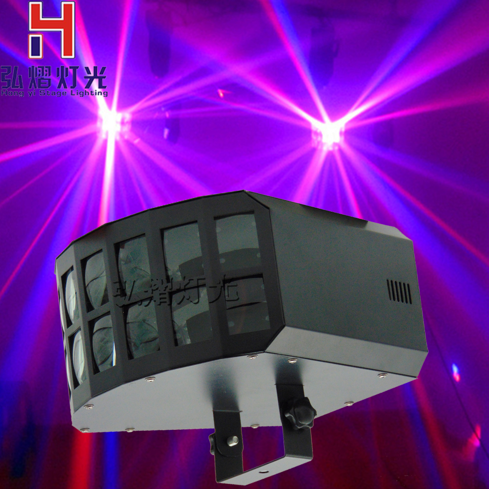 Professional DMX512 led butterfly stage effect light 2x10w RGBW 4in1 LED Double Butterfly Light club Disco BAR KTV LightsProfessional DMX512 led butterfly stage effect light 2x10w RGBW 4in1 LED Double Butterfly Light club Disco BAR KTV Lights