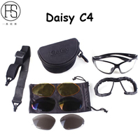 High Quality Outdoor Sports Hiking Glasses Daisy C4 Shooting Military Camping Goggles Climbing Eyewear Bicycle Sunglasses