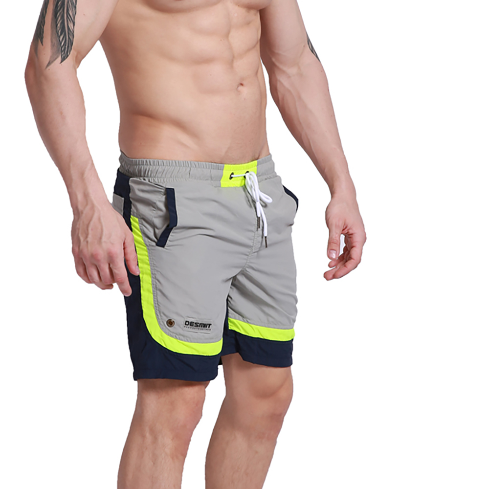 Men's Brand middle   Board     shorts   Gym Swimwear Beachwear Pink surfing   shorts