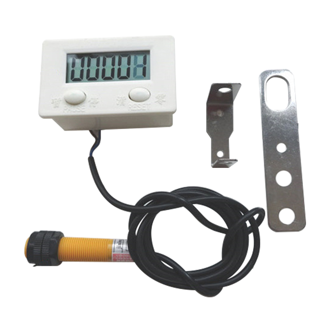 New P11-5A LCD Digital Display Electronic Counter Punch Magnetic Induction Proximity Switch Reciprocating Rotary Counter цена