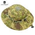 Emerson greenzone bonnie militar do exército hat anti-raspar grade tecido camuflagem caça cap tático caça pesca hat em8734 gz