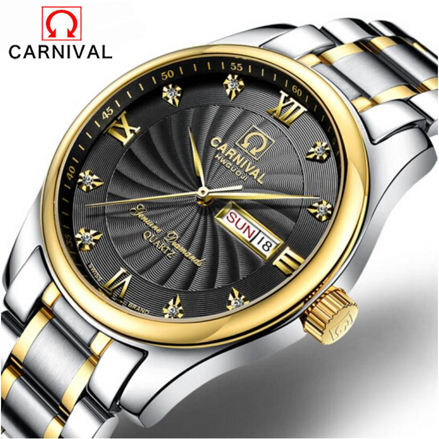 Switzerland Brand 2017 New Waterproof Sports Military Watches Quartz Wristwatch Carnival Business Men  relojes hombre