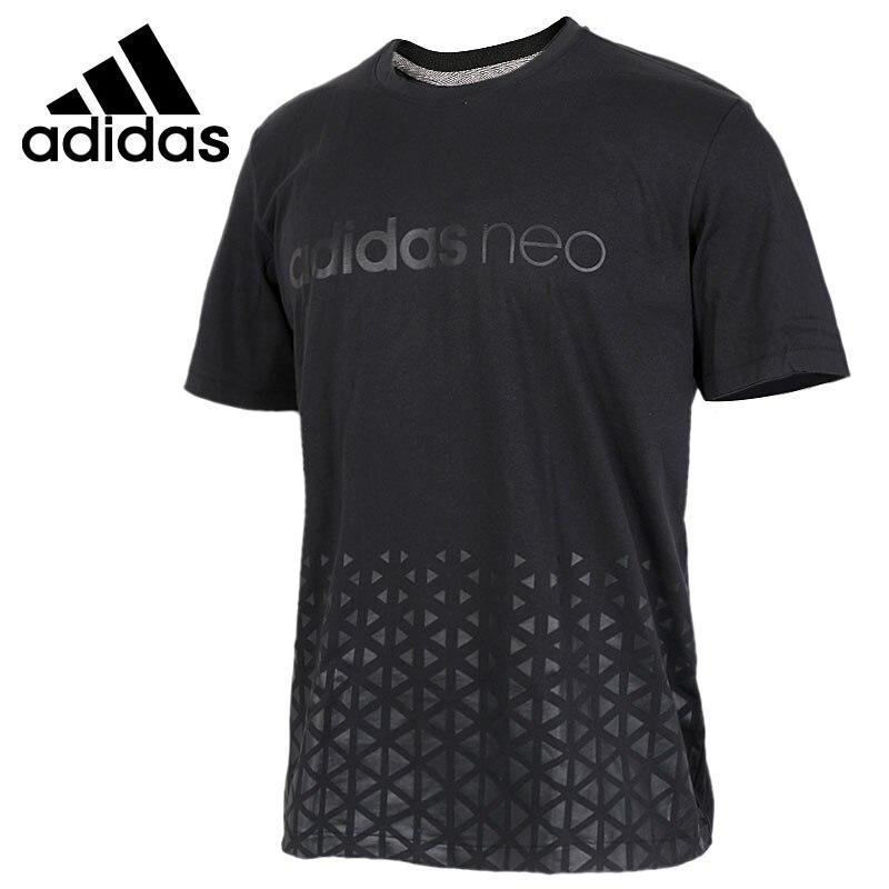 ФОТО Original New Arrival 2017 Adidas NEO Label Men's T-shirts short sleeve Sportswear