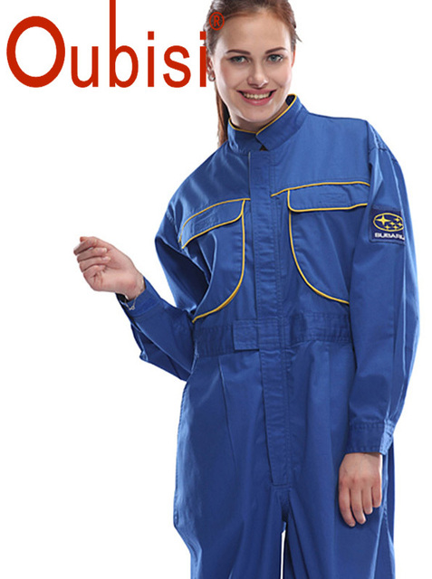 ddae826dd7e8 Oubisi high quality work clothes for women suit coveralls Unisex wear  welding suit engineer workwear